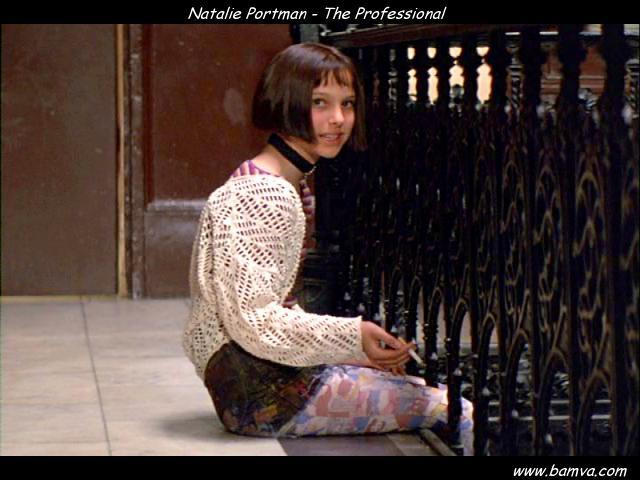 natalie portman leon. Photo of Natalie Portman from Leon the Professional (1994) with Jean Reno
